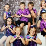 Dancers in Purple, Boys & Girls