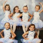 Young Dancers in White/Blue