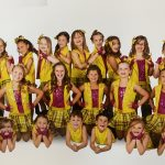 Dancers in Yellow and Pink